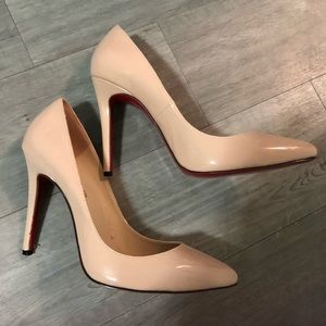 Nude heels from Italy, brand new, size 42 female